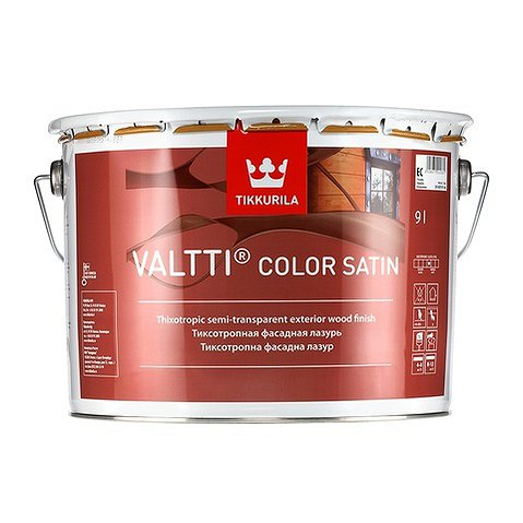 VALTTI COLOR SATIN EC антисептик 0.9 л