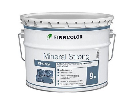 MINERAL STRONG MRA (LAP) фас.краска 9л